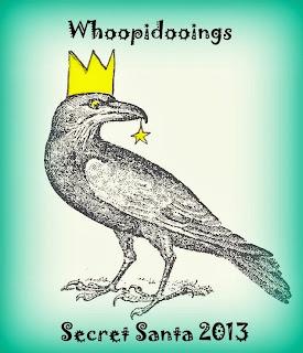 Whoopidooings: Carmen Wing - Secret Santa 2013 logo - Christmas Raven