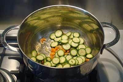 Risotto alle verdure 7