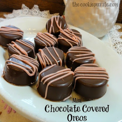 Mini Chocolate Covered Oreos