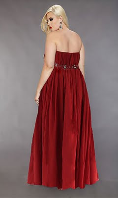 Size Evening Dress on Draw All Attention With Plus Size Prom Dresses