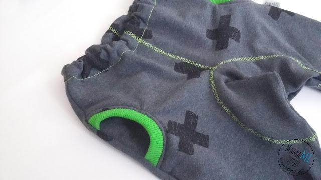 spodnie z kieszonkami po łuku ottobre 1/2015 model 10