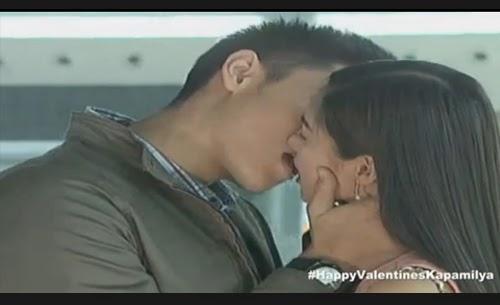 Xian Lim - Kim Chiu kiss