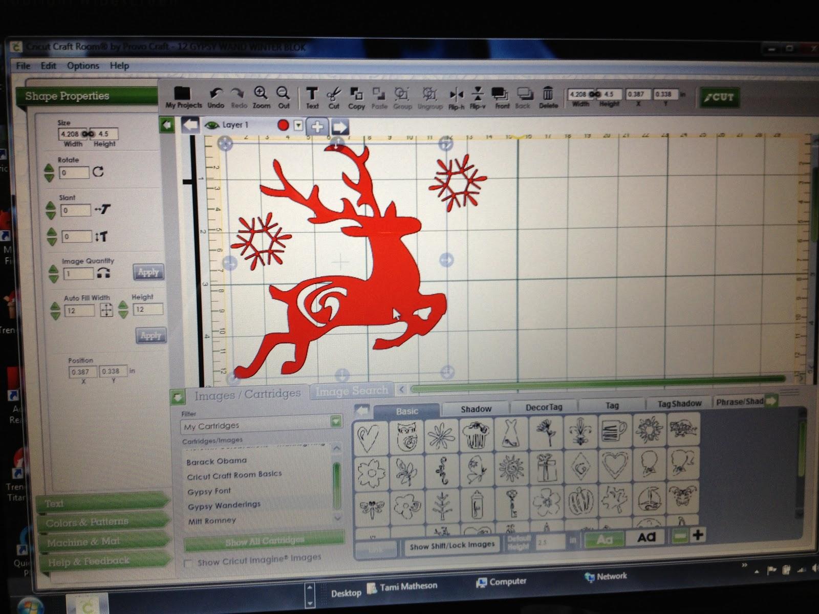Scrappin rabbit designs november 19 my cricut craft room for Cricut mini craft room