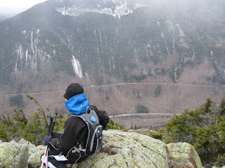 Looking into Crawford Notch