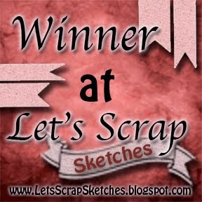 Winner at Let's Scrap