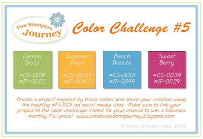 June 2015 Color Challenge