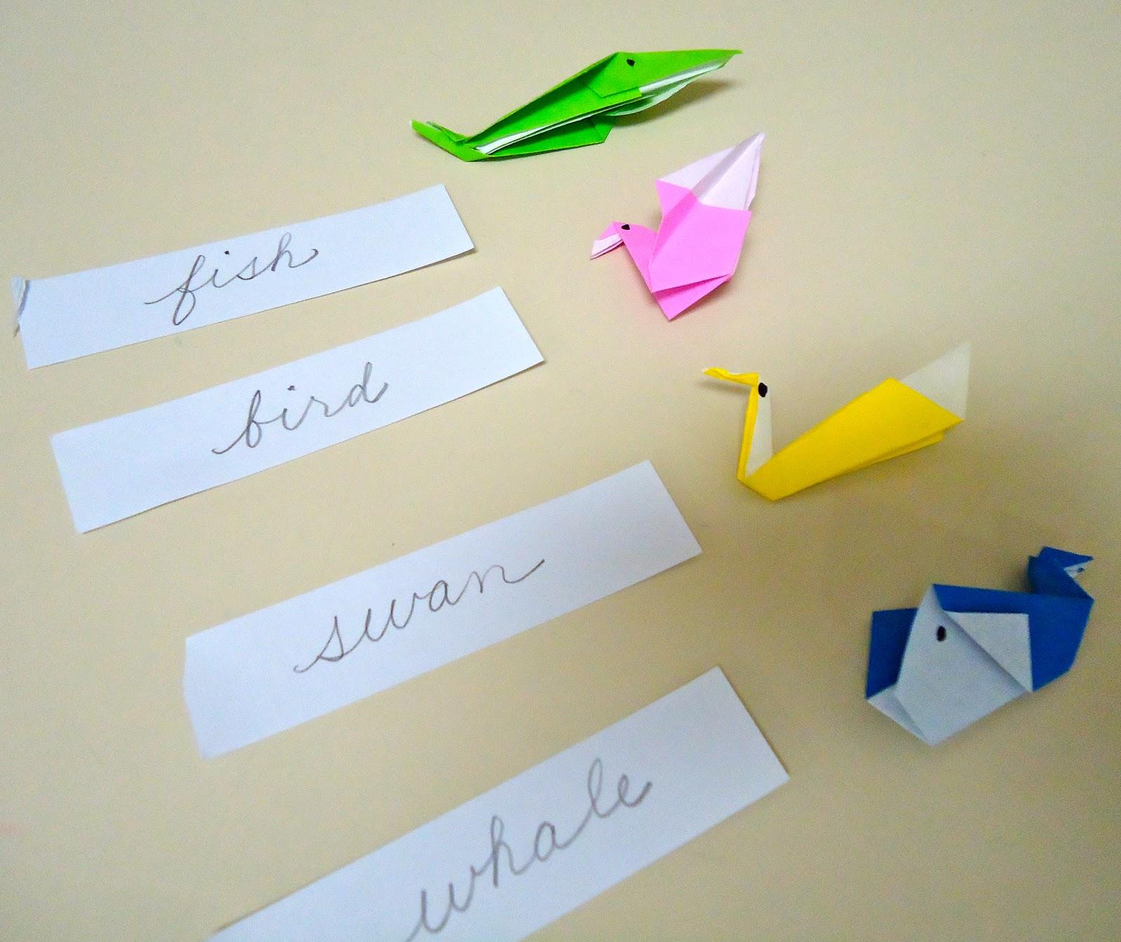 origami object box dirigo montessori school