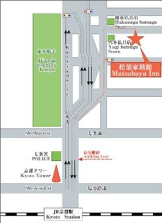 Mapa del Matsubaya Inn