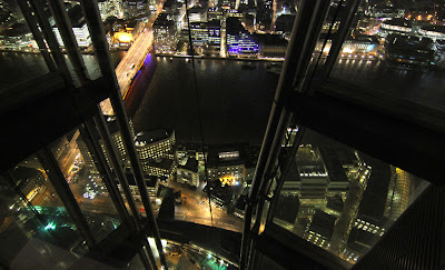 Shard: View down to London Bridge