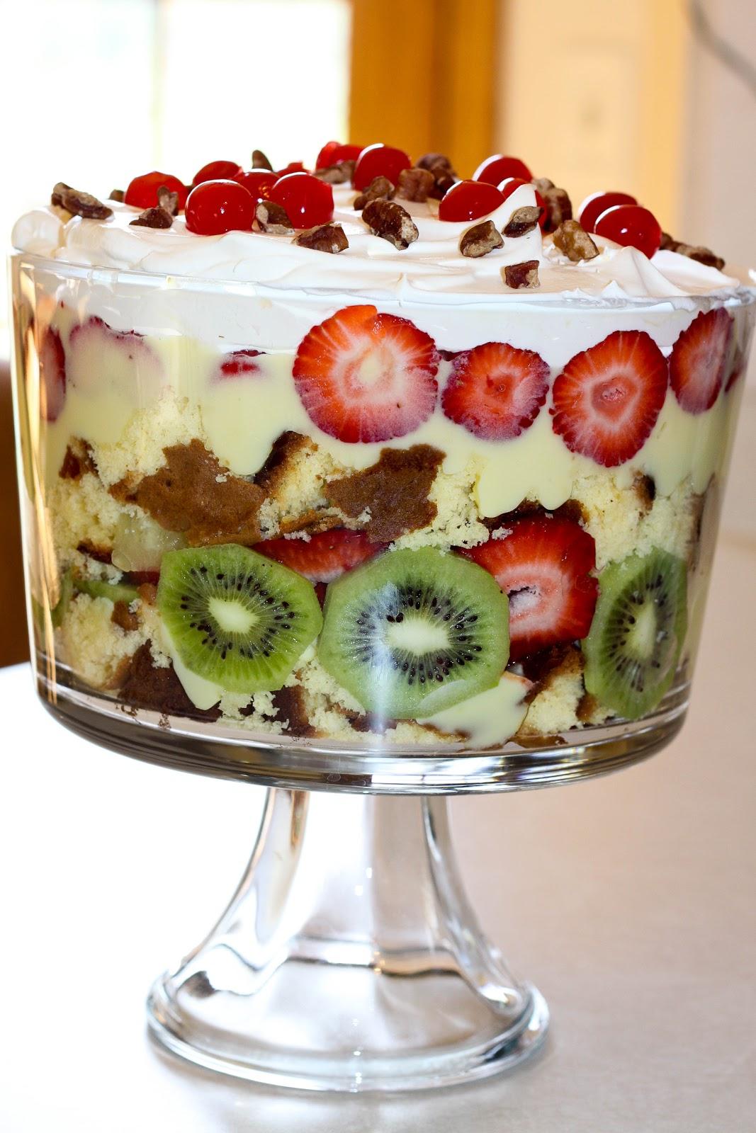 Fruit Cake With Pineapple Chunks