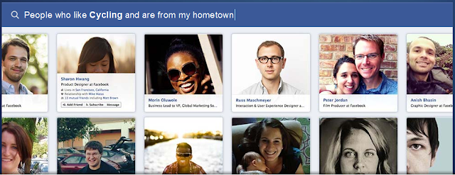 Facebook Graph Search In Action
