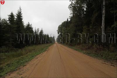 Дорога в Крево