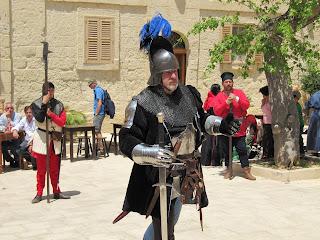 Knight at Medieval Mdina
