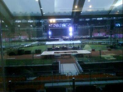 Panggung Megah Konser SM Town di Jakarta