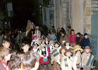 Los Reyes Magos por la calle Mayor de Candelario Salamanca