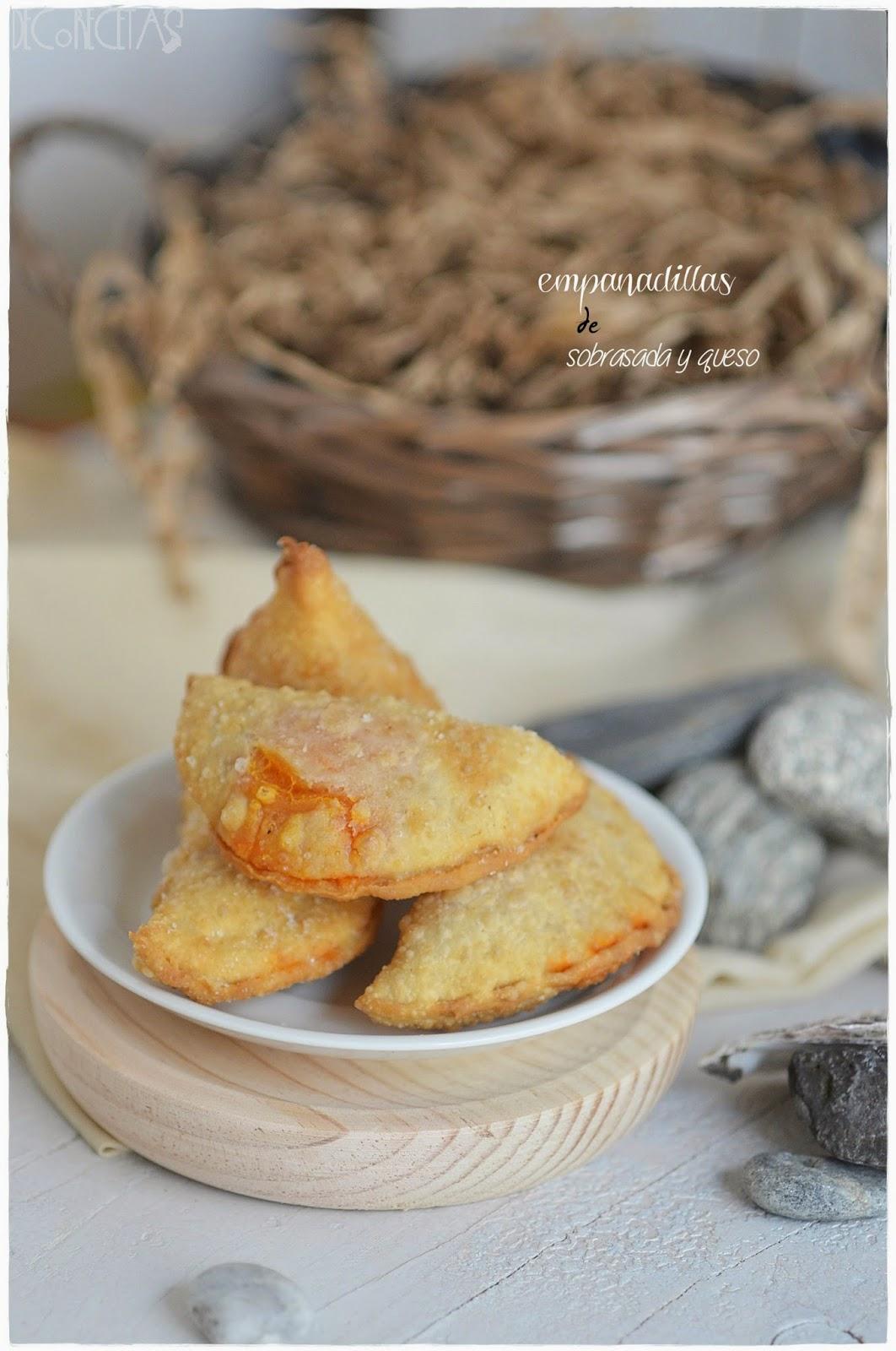Empanadillas de sobrasada y queso