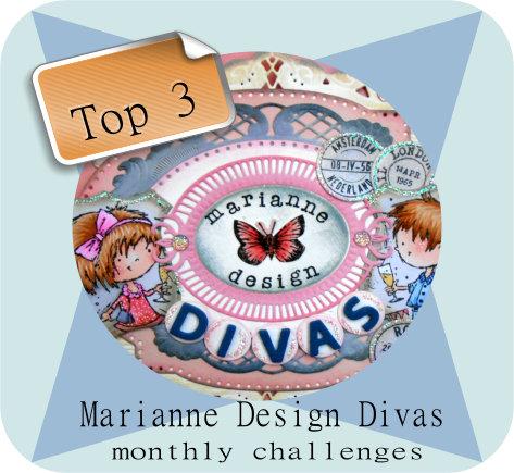 3ème prix Marianne Design mois de février 2016