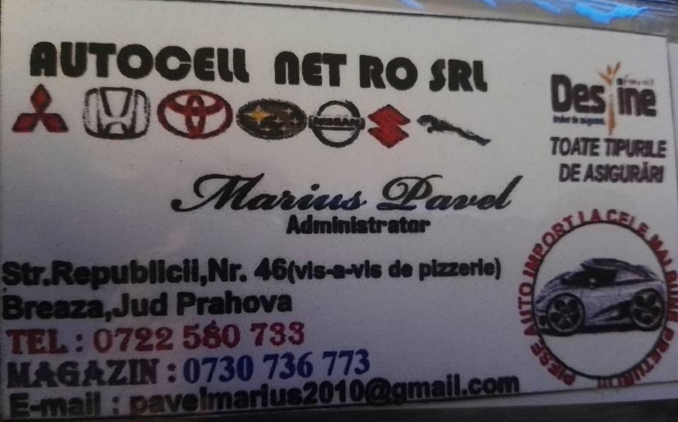 33. S.C AUTOCELL PIESE AUTO S.R.L BREAZA