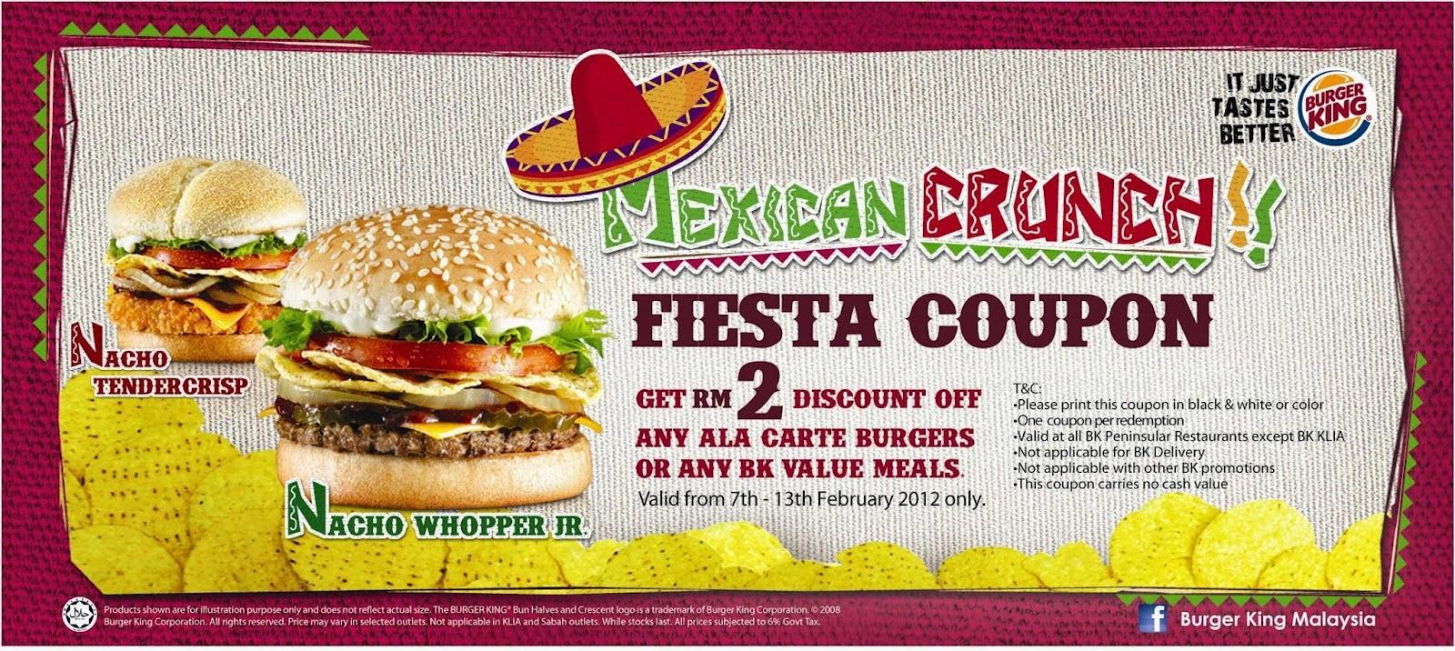 Printable burger king coupons online