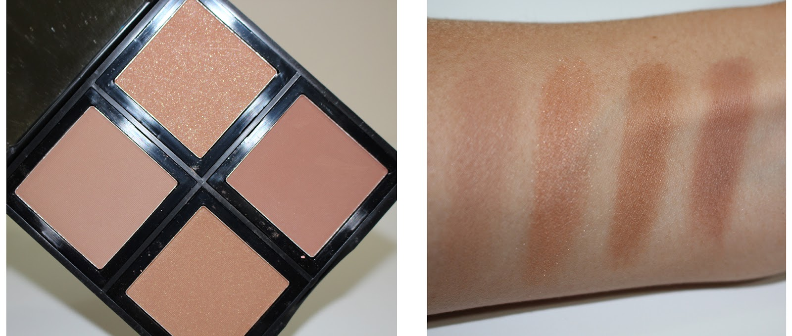 Bronzers elf studio bronzer palette review there are two matte bronzers and two gold shimmer bronzers and yes the swatches on my arm look amazing but in reality trying to build enough color to ccuart Choice Image