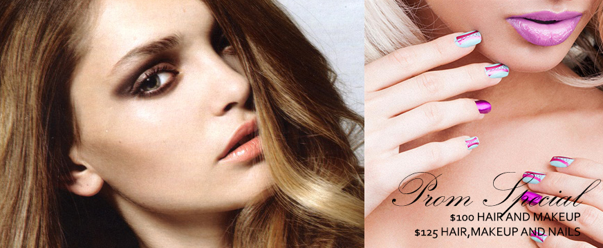 Prom Makeup and Nails 2013 ~ Muah Beauty Blog
