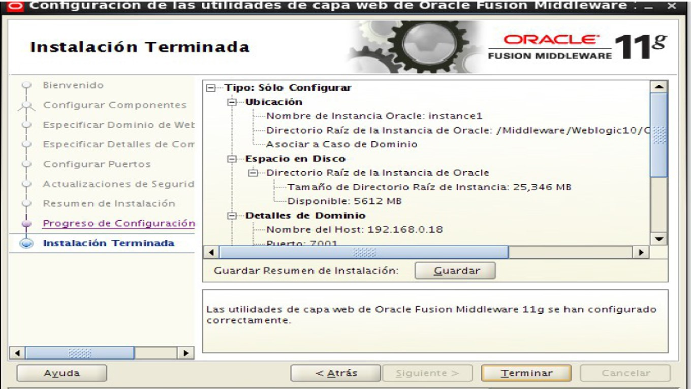 nos middleware This section provides the following information for each oracle fusion middleware service that uses a port: component or service: the name of the component and service default port number.