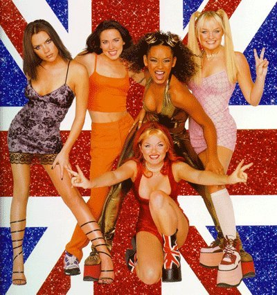 spice girls retro