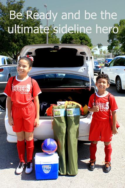 Tips on becoming your child's ultimate sideline hero! #SidelineHero #ad