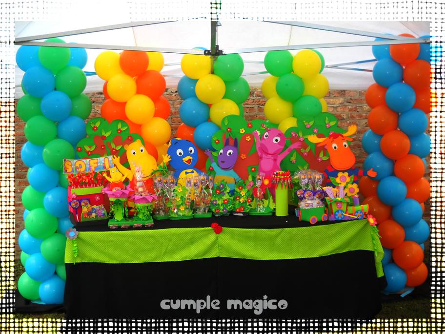 Ambientaciones para cumplea os fiestas tem ticas infantiles - Decoracion para fiestas de cumpleanos infantiles ...