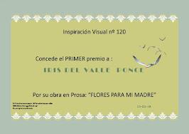1er. Lugar Inspiración Visual No.120