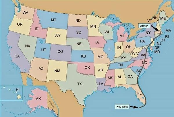 USA Wschodnie Wybrzeże