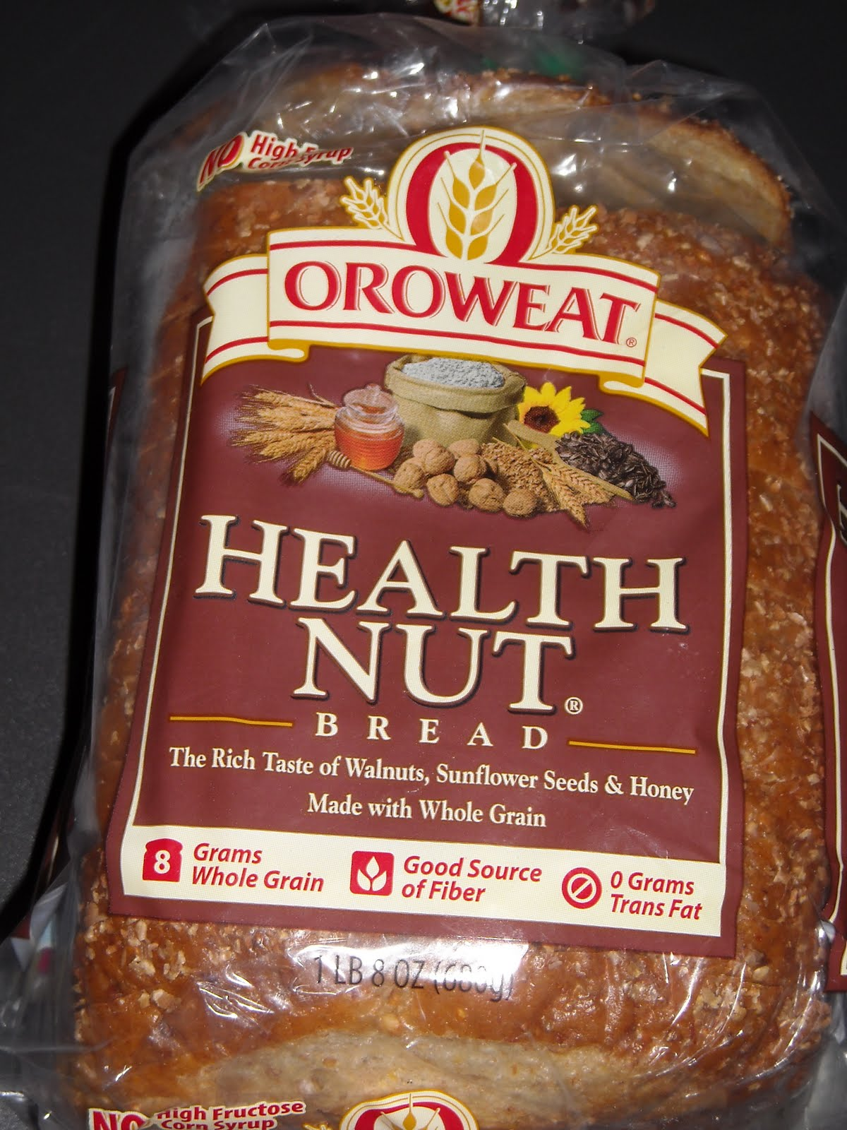 Review Bread Oroweat Health Nut Images Frompo