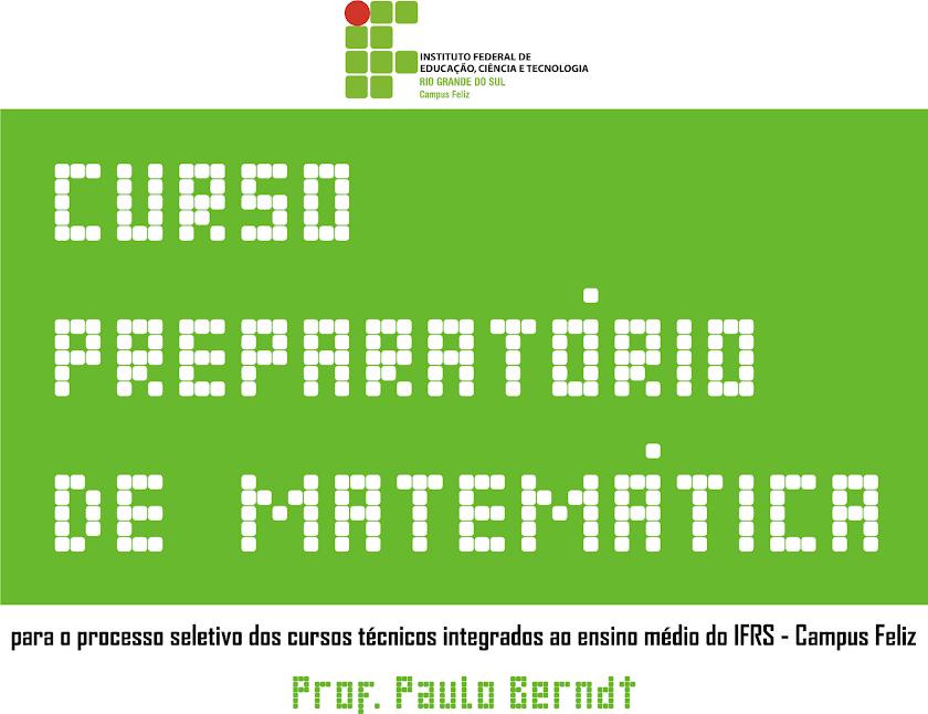 Curso Preparatório de Matemática