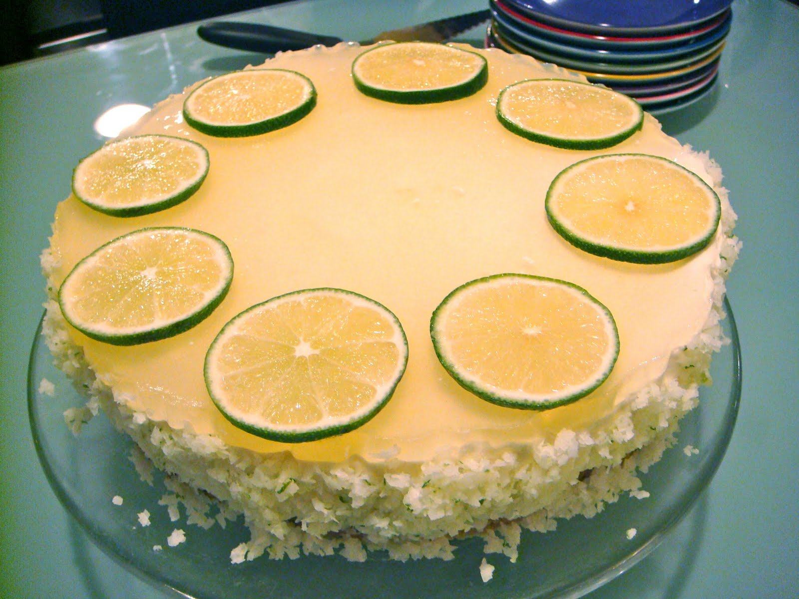 Delicious Dishings Margarita Cake