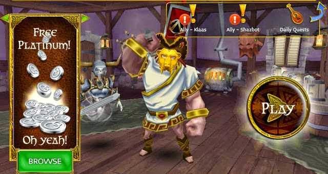 how to play arcane legends on chrome