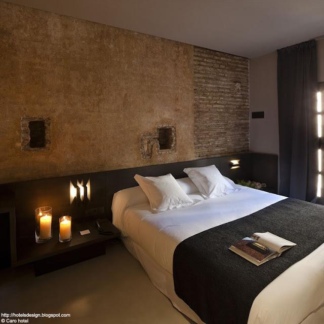 Les plus beaux hotels design du monde caro hotel by for Hotel design espagne