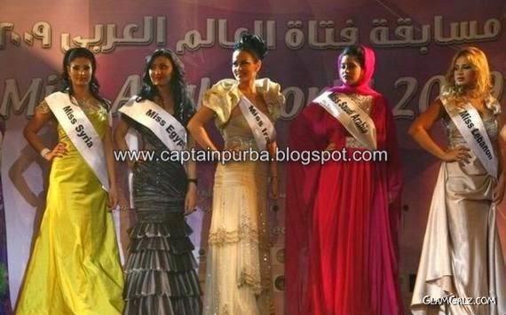 Wow Pertandingan Ratu cantik Arab