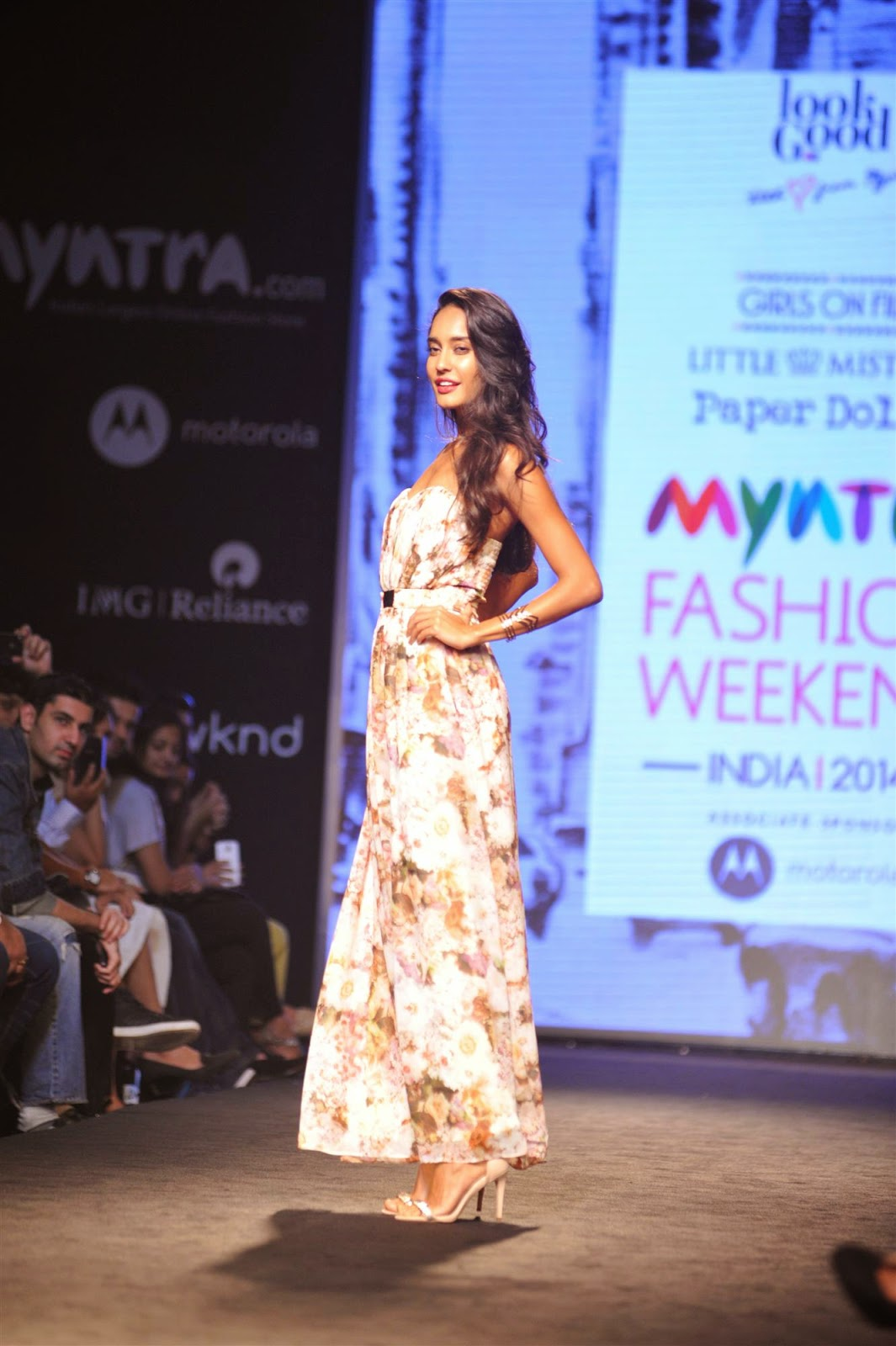 Lisa Haydon Ramp Walk at Myntra Fashion Weekendc