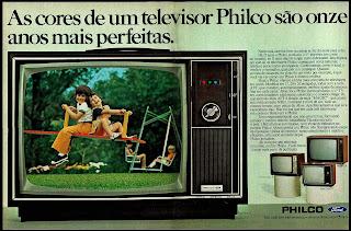 Philco; Ford; os anos 70; propaganda na década de 70; Brazil in the 70s, história anos 70; Oswaldo Hernandez;