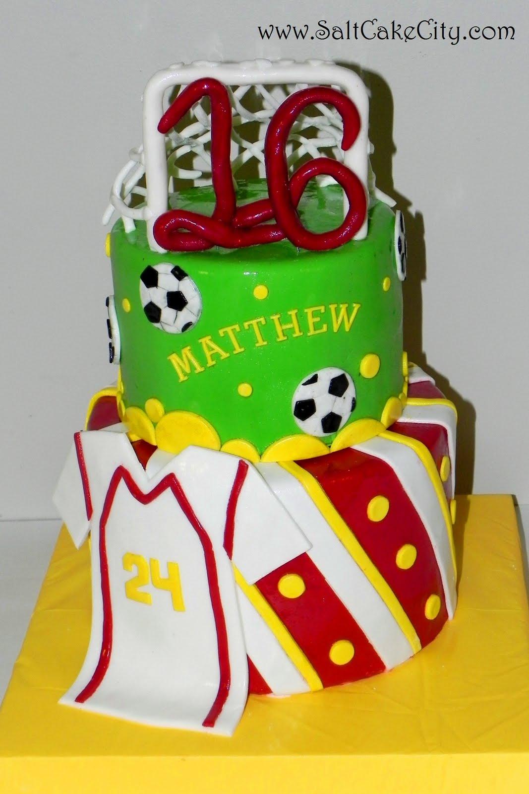 Salt Cake City Soccer Birthday