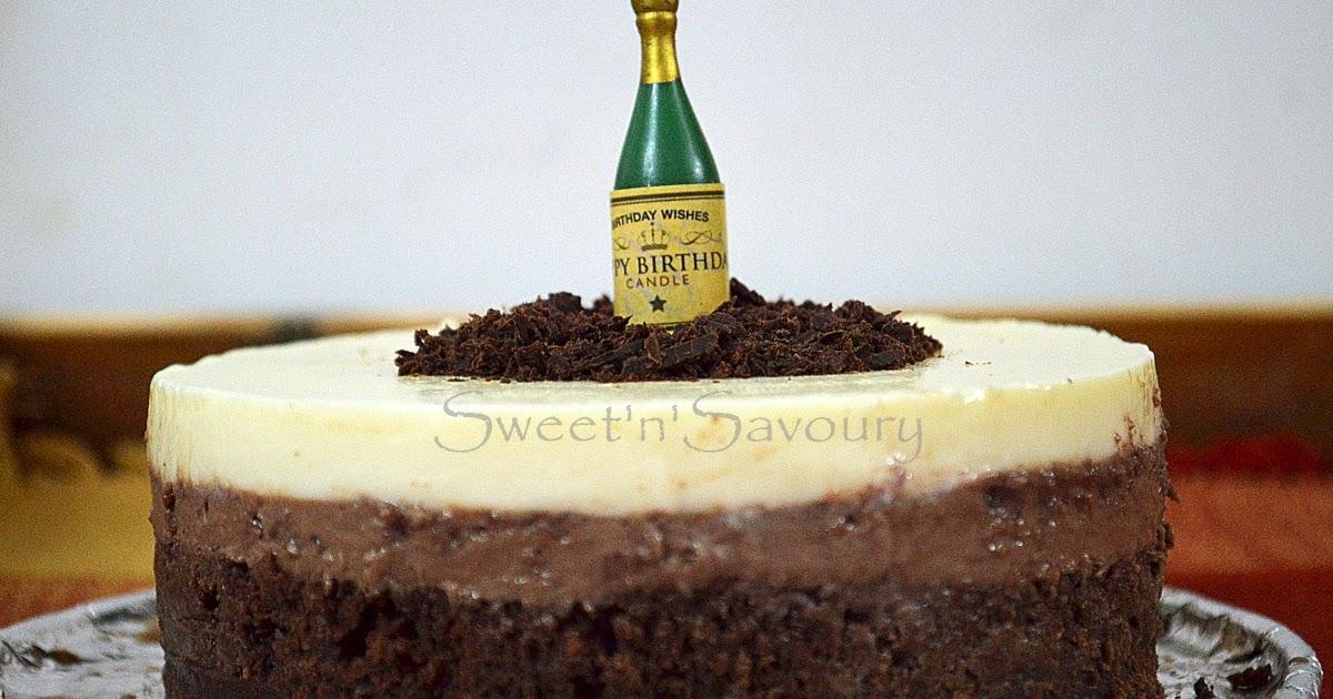 Sweet N Savoury Triple Layer Chocolate Cake For Vishals Birthday