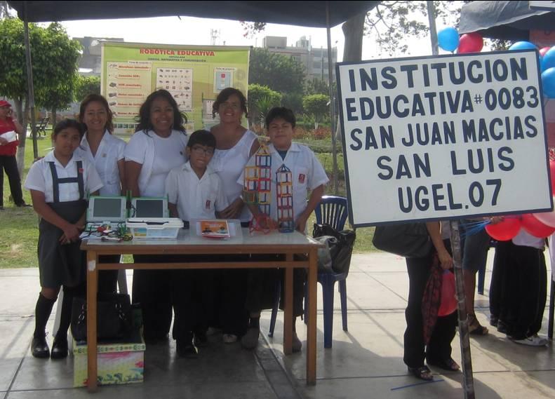 I E N 0083 San Juan Macias Feria Materiales Oportunos