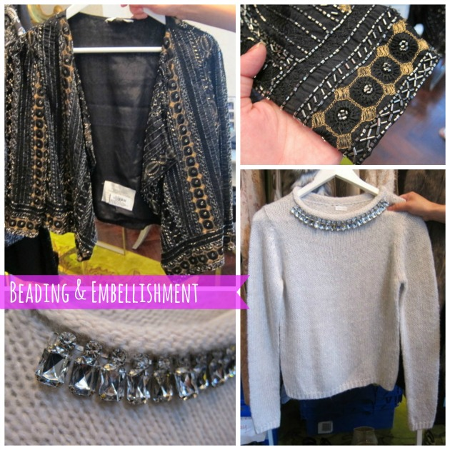Beading and embellishment for autumn at New Look