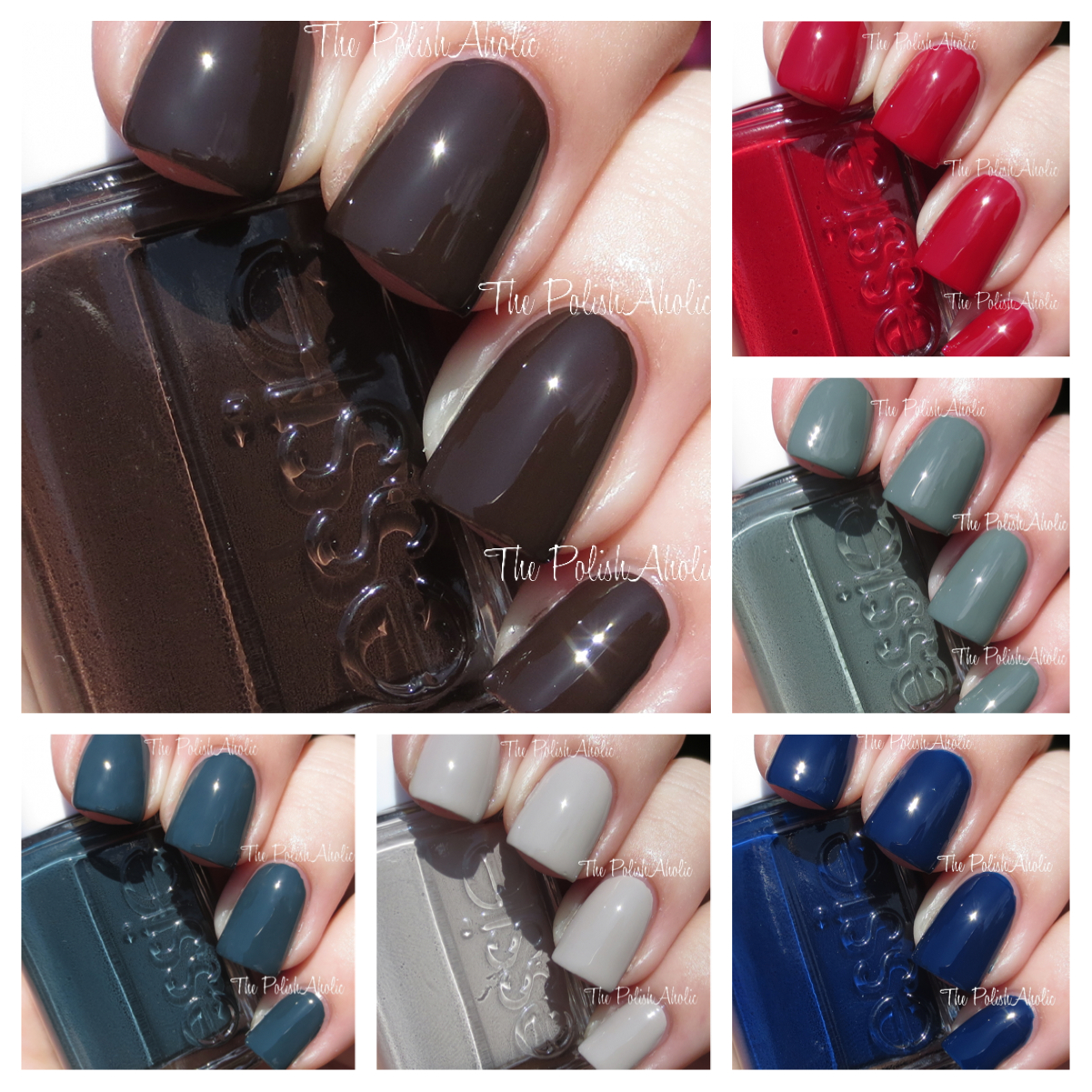 The PolishAholic: Essie Fall 2014 Dress To Kilt Collection Swatches ...