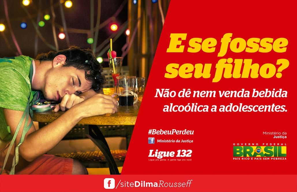 campanha bebida adolescentes carnaval 2014