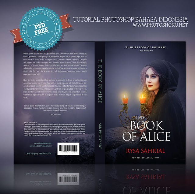 Permalink to Design cover buku Novel dengan Photoshop CC