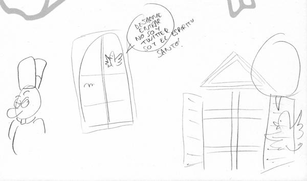 Tutorial de como se hace una portadita para el Jueves del dibujante Franchu Llopis