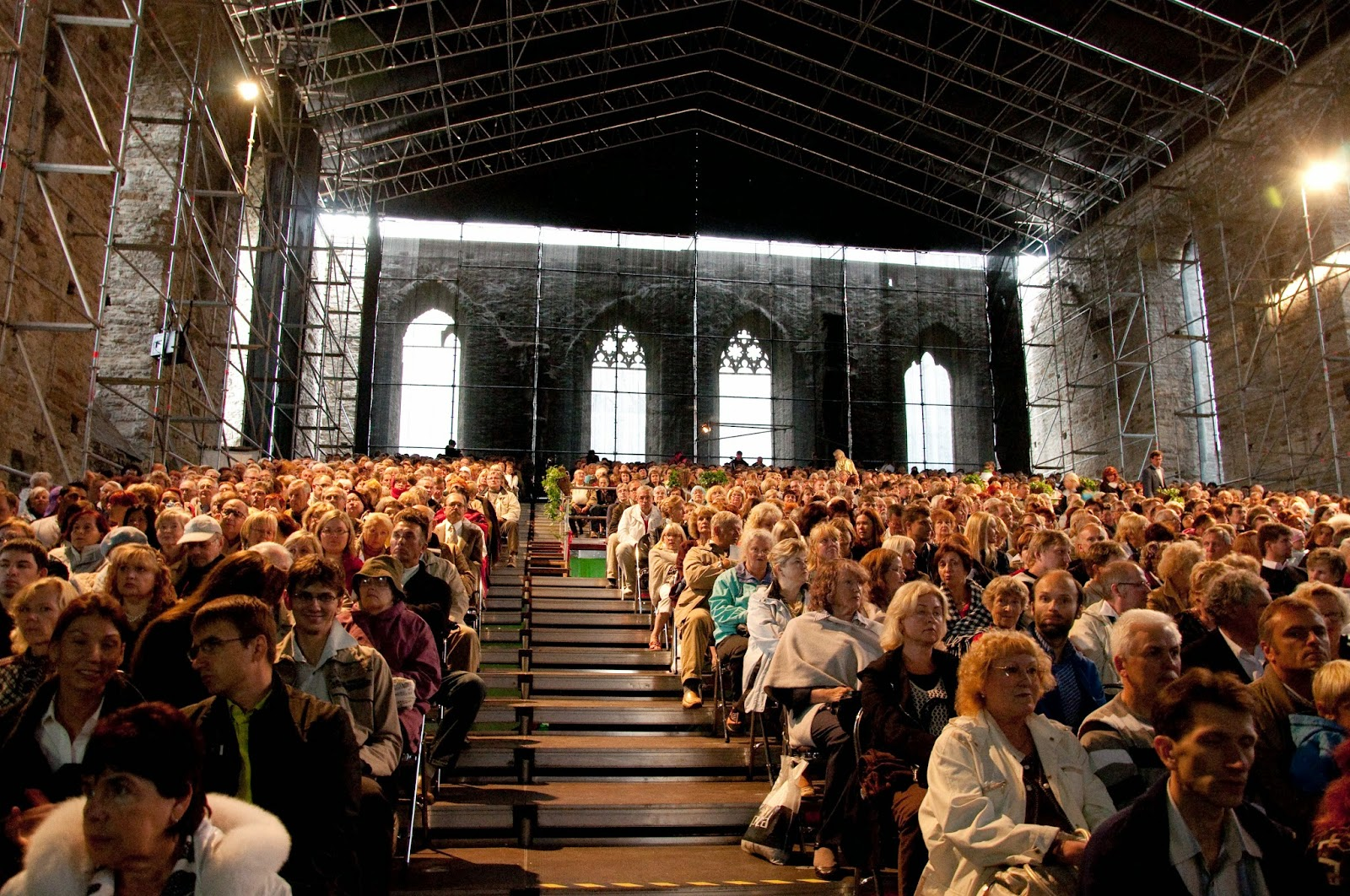 The Audience at the Birgitta Festival in Tallinn