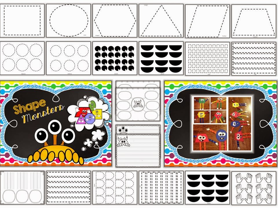 http://www.teacherspayteachers.com/Product/Shape-Monster-Craftivity-367617