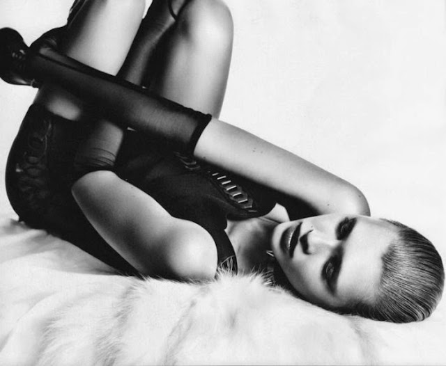 Fetish Inspirations : Nadine Wolfbeisser by Oliver Rose for Bolero Magazine September 2011
